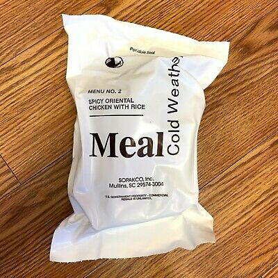 $26.95 • Buy RARE US MRE Military Cold Weather Meal Hiking Freeze Dried Mountain House 7/22