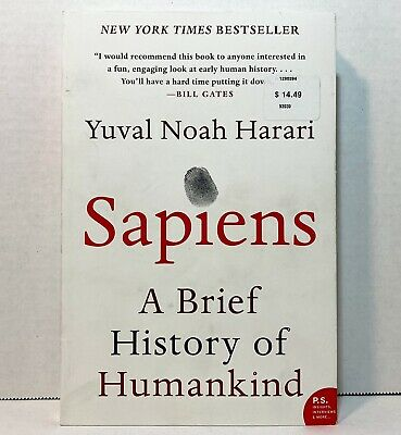 AU14.75 • Buy Sapiens : A Brief History Of Humankind By Yuval Noah Harari (2018 Paperback)