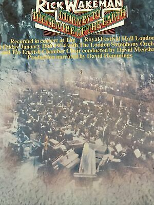 Rick Wakeman - Journey To The Centre Of The Earth - Vinyl LP 1974 AMLH-63621-A3 • 2£