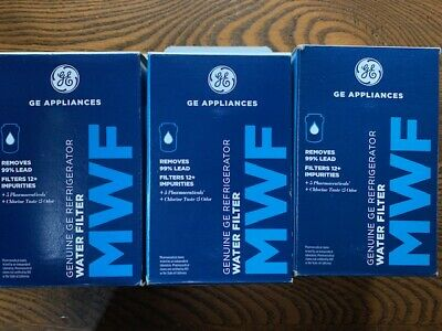 $ CDN37.60 • Buy General Electric MWF Refrigerator Water Filter 3 Pack New Sealed