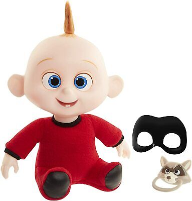 $28.90 • Buy The Incredibles 2 Baby Jack-Jack 12  Doll With Pacifier And Mask