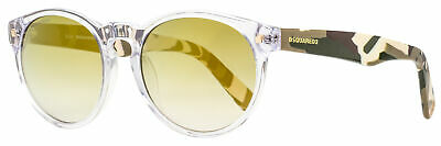 £50.20 • Buy Dsquared2 Ralph Sunglasses DQ0172 26P Crystal/Camo 53mm 172