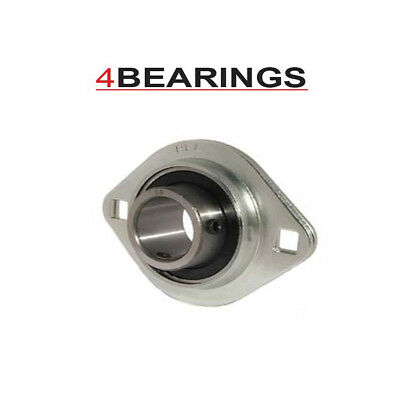 £8.39 • Buy Slfl20516 1  Bore Oval Pressed Steel Housing Unit With Bearing E Collar