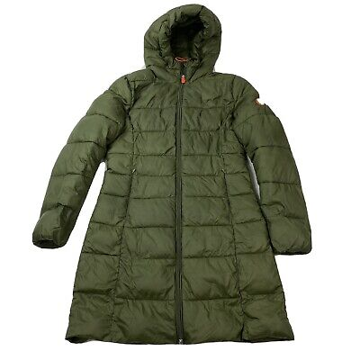 AU25.84 • Buy Save The Duck Womens Green Parka Winter Jacket Coat Size 0 XS