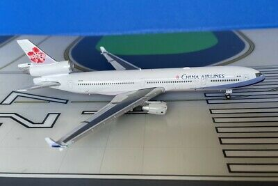 $45.95 • Buy China Airlines McD Douglas MD-11 B-153 2000's 1/400 Diecast JC Wings Models