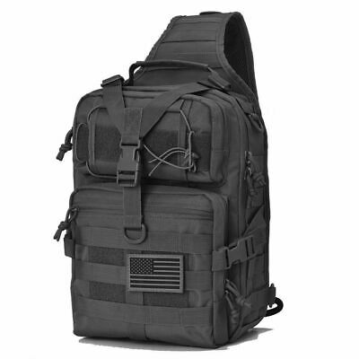 $30.87 • Buy Tactical Sling Bag Pack Military Rover Backpack EDC Molle Assault Range Outdoor