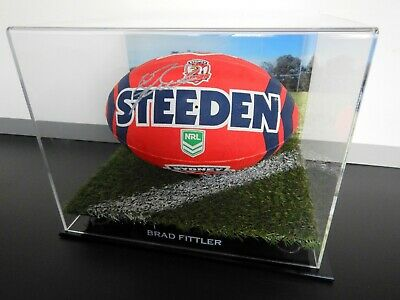 AU399.99 • Buy ✺Signed✺ BRAD FITTLER Roosters Football PROOF COA Sydney 2021 Jersey NRL