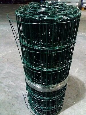£20.99 • Buy PVC Coated Border Wire Mesh Fence 600/900/1200/1800mm X 10m/25m - Astro