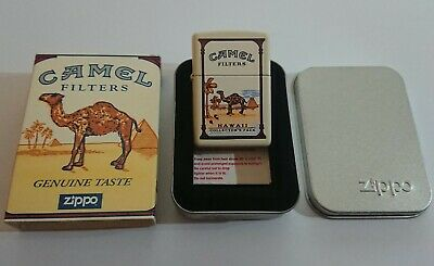 £245 • Buy Camel Hawaii Collector's Pack ZIPPO Lighter, Double Sided, Circa 1998, Very Rare