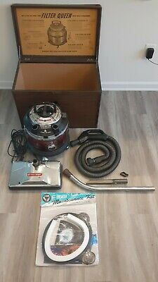 $150 • Buy Filter Queen Vacuum Red Majestic Triple Crown With Power Head Attachments