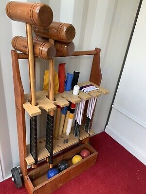 Croquet Set And Trolley Uber Games • 45£