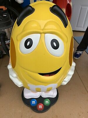 $264.95 • Buy Yellow M&M's Candy Character Collectible Large 41  Store Display Free Shipping
