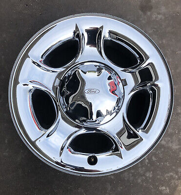 "$139 • Buy 99-03 One Wheel Rim Ford F150 Expedition 17""  Oem Chrome Clad Steel OEM 3329 #4"