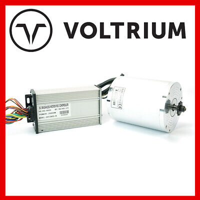 AU215 • Buy New Voltrium 3000w 60v Motor + Controller For Electric Scooter - 1000w 2000w