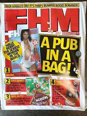 AU36.99 • Buy FHM Mag - Hale Berry (NEW & SEALED)