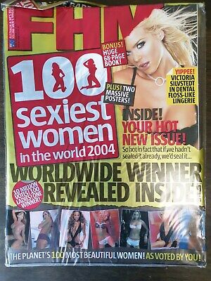 AU36.99 • Buy FHM Mag - 100 Sexiest Women 2004 (NEW & SEALED)