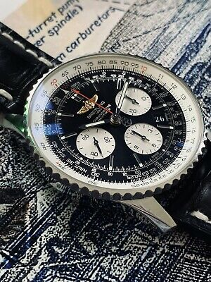 £4350 • Buy Breitling Navitimer B01 AB0120 43mm (with Gold Wings!)