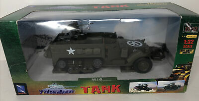 $36.99 • Buy 2003 New-Ray Tank -Modern Army Half Track- M16 Battery Operated