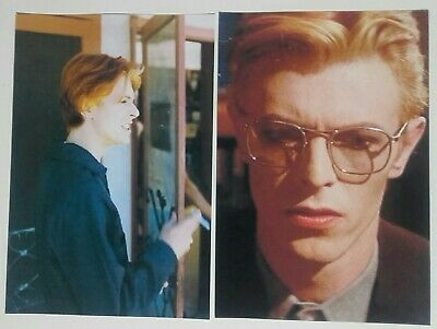 David Bowie The Man Who Fell To Earth Film - 20 Pics 6 X4  + Free Cd! Reduced! • 4.50£