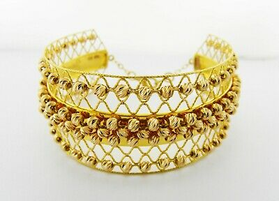 £1950 • Buy 21ct Gold Wide Bangle