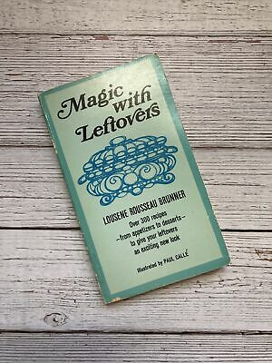 £10.78 • Buy Vintage Magic With Leftovers Cookbook 1955 1950's Housewife Recipes