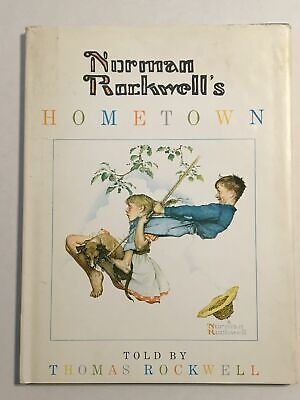 $ CDN125.26 • Buy 1970 Norman Rockwell's Hometown By Thomas Rockwell Signed By Norman Rockwell