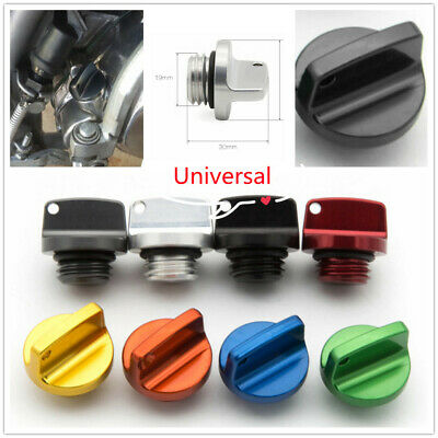 $20.99 • Buy CNC Aluminum Alloy Modified Motorcycle Fuel Gas Cap Tank Cover Universal