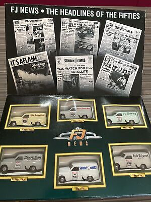 AU60 • Buy Top Gear Box Set FJ Holden Newspaper Series 1/64 Scale. Very Rare Collection