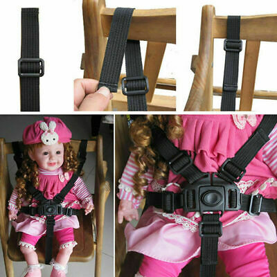 AU4.87 • Buy 5Point Safety Baby Kids Harness Stroller High Chair Pram Belt Strap Car E4O3