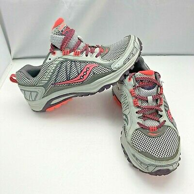 $ CDN49.95 • Buy Saucony Excursion TR9 Trail Gray Running Shoe Women's Size 8.5 WIDE 15249-1