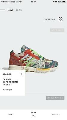 $ CDN203.65 • Buy Sean Wotherspoon × Adidas ZX 8000 Super Earth Men's Size 10 Brand New