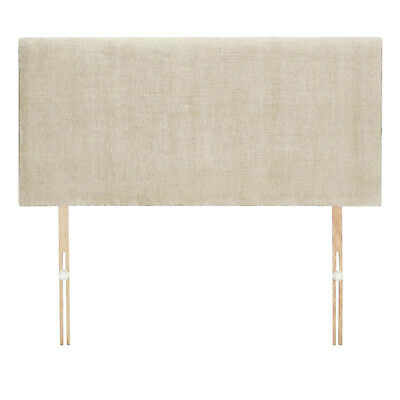 £32 • Buy New Cream Fabric Headboard - Available In 20 Or 24 Inch Height 3FT 4FT 4FT6 5FT