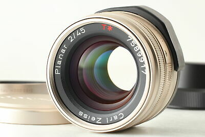 $ CDN522.57 • Buy [Near MINT] Contax Carl Zeiss Planar T* 45mm F/2 For G1 G2 From JAPAN