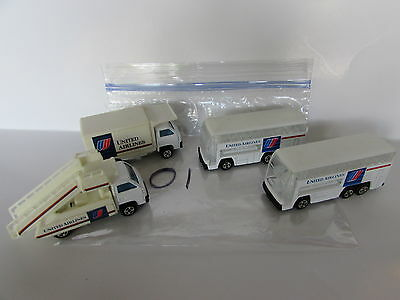 $ CDN61.68 • Buy United Airline Toy Vehicle Lot Of 4 Double Decker Bus Stairway Truck China Base