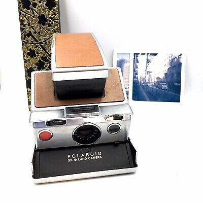 AU179.44 • Buy [AS IS ] Polaroid SX70 Instant Land Camera Film-TESTED APP [MINT] First Model