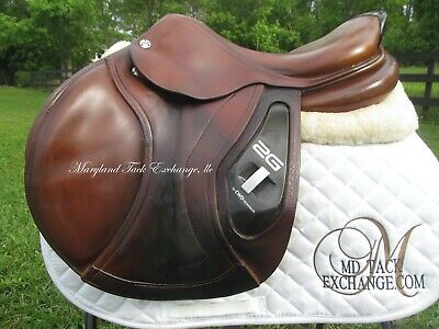 $ CDN3373.67 • Buy 17.5  CWD 2G SE17 Close Contact Jumping Saddle- 3C Flaps- PRICED TO SELL FAST!!