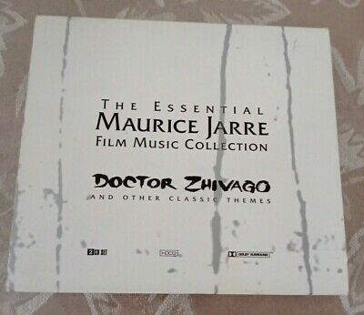 AU30.87 • Buy The Essential Maurice Jarre Film Music Collection, Doctor Zhivago Etc., 2 CDs