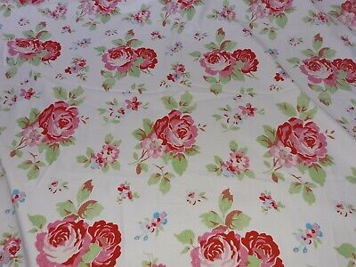 Unused Ikea Rosali Rare Curtain Weight Fabric Cabbage Roses Cath Kidston • 40£