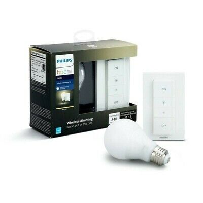 AU47.49 • Buy Philips Hue Wireless Dimming Kit A60 - (Wireless Dimmer Switch + E27 Bulb X1)
