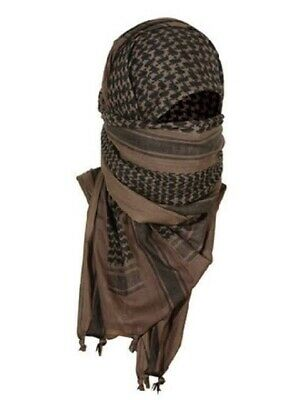 $9.99 • Buy Shemagh Army Military Tactical Scarves Dark Brown Mocha Black