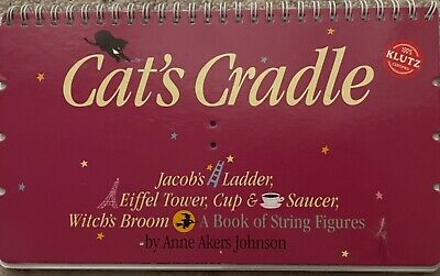 £4.23 • Buy Cat's Cradle Book Spiral-bound By Anne Johnson Hardcover Book