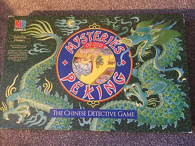 £60 • Buy Mb Games Mysteries Of Old Peking - Chinese Detective Game - Complete