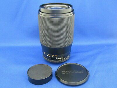 $ CDN228.85 • Buy Secondhand Side Dish Contax Rts Tele-Tessar 200Mm F3.5Ae Interchangeable Lenses