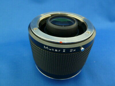 $ CDN172.60 • Buy Secondhand Contax Rts Mutar Ii Interchangeable Lenses