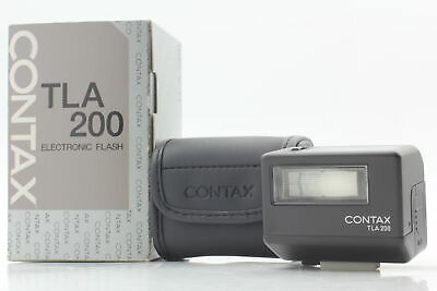 $ CDN420.20 • Buy [Top Mint In Box] CONTAX TLA 200 Black TTL Shoe Mount Flash For G1 G2 From JAPAN