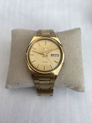 $ CDN41.63 • Buy Rare Vintage Gold Seiko-5 Model 7009 3140 Automatic Day/date, Original Bracelet