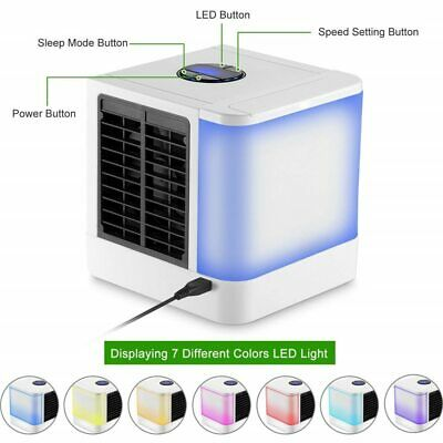 AU45.90 • Buy Personal Portable Cooler AC Air Conditioner Unit Air Fan Humidifier US