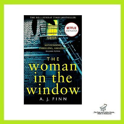 AU22 • Buy The Woman In The Window - Paperback Book - BRAND NEW - FAST FREE SHIPPING AU