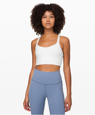 $ CDN29.01 • Buy Lululemon Free To Be Bra Long Line White Size 4 RRP: $69