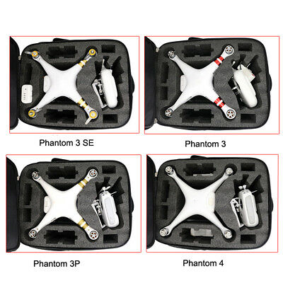 AU60.01 • Buy Universal Carrying Shoulder Case Backpack Bag For DJI Phantom 3S 3A 3SE 4A 4 4P
